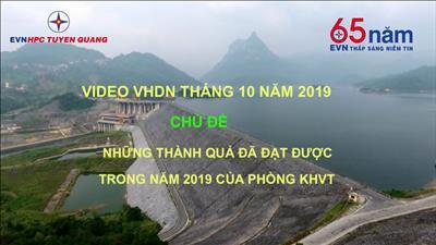 Những thành quả đã đạt được trong năm 2019 của phòng KHVT