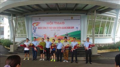Công ty thủy điện Tuyên Quang tổ chức Hội thao nhân tháng công nhân và Kỷ niệm ngày thành lập Công ty