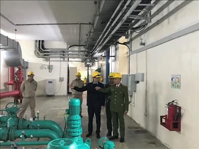 Kiểm tra các điều kiện an toàn về PCCC&CNCH tại Nhà máy Thủy điện Tuyên Quang năm 2021
