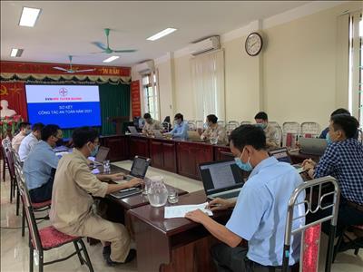 Công ty Thủy điện Tuyên Quang tổ chức sơ kết công tác an toàn 06 tháng đầu năm, triển khai nhiệm vụ 06 tháng cuối năm 2021