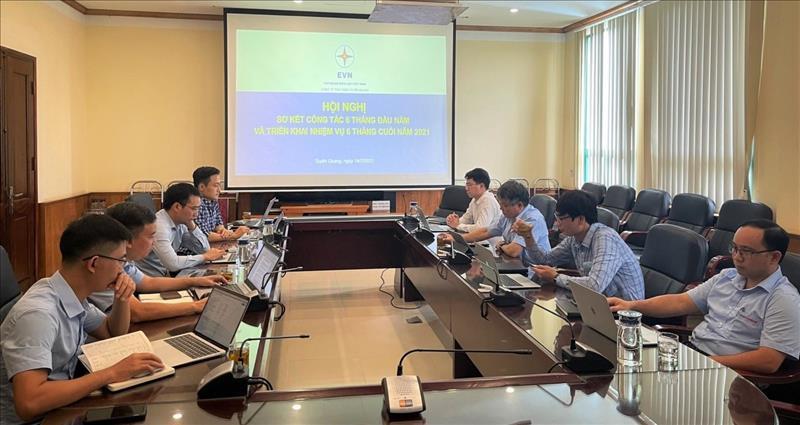 Công ty Thủy điện Tuyên Quang tổ chức sơ kết công tác 6 tháng đầu năm và triển khai nhiệm vụ 6 tháng cuối năm 2021